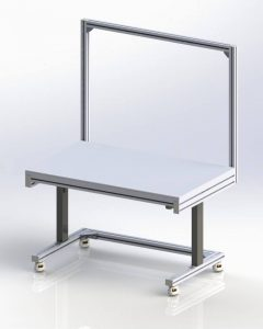 30x48 standard workstation from FlexMation Inc