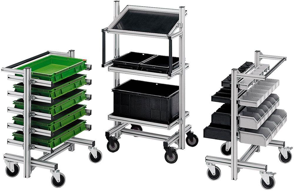 Custom Material Handling Carts