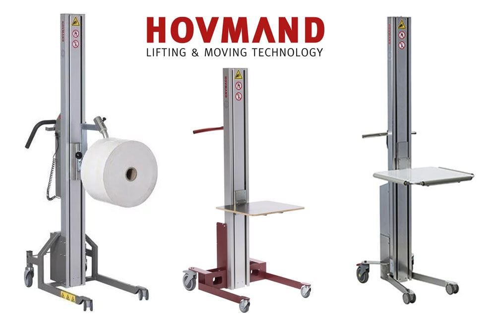 Hovmand Ergonomic Lifting Carts
